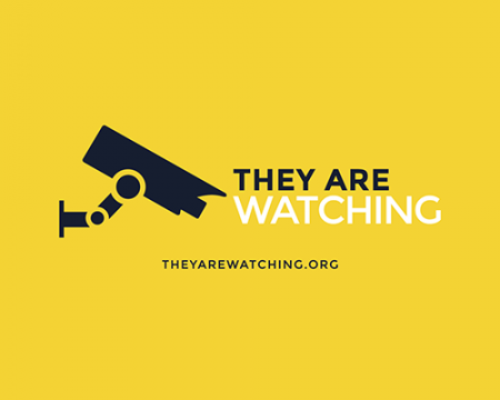They are watching camera logo