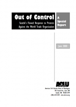 Cover of WTO protest report