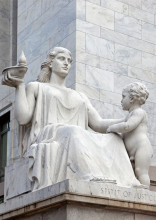 Photo of the Spirit of Justice Statue