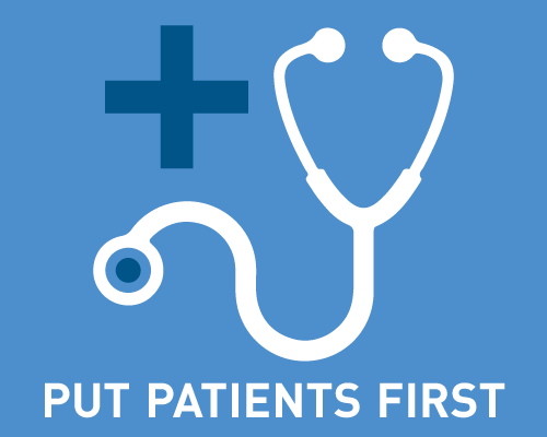 Put patients first project icon